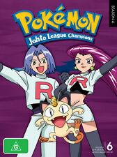 Pokemon - Johto League Champions : Season 4 (DVD, 2010, 6-Disc Set) - Region 4