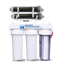 Premier 6 Stage Aquarium Reef Reverse Osmosis RODI Water Filter System : Dual DI