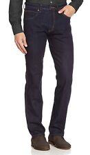 Wrangler New Mens Arizona Stretch Regular Fit Jeans Rinsewash Dark Blue Denim