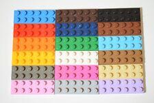 Lego plaque 2 x 2 avec 1 stud brun foncé 87580-Pack de 25