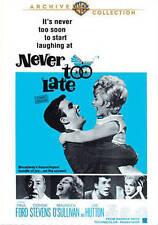 Never Too Late,New DVD, Timothy Hutton, Henry Jones, Jane Wyatt, Jim Hutton, Mau