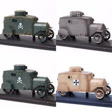 1:43 WW1 Atlas German military E-V/4 Ehrhardt armoured car truck tank Toy model