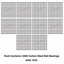 1mm diámetro grado 1000 endurecido rodamientos de bolas de acero al carbono 1010