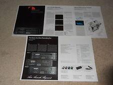 Nakamichi 680zx, 670zx, 660zx Cassette Brochure, 5 pg, 1980, Articles, Specs
