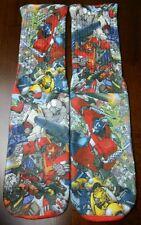 Custom Transformers socks Megatron Optimus Prime autobot decepticon