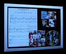 U2 Mysterious Ways LTD NOD QUALITY CD FRAMED DISPLAY+EXPRESS GLOBAL SHIP!!