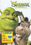 SHREK: THE STORY SO FAR (4-DISC DVD SET)  3D Eddie Murphy Mike Myers