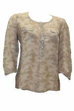 Camicia da donna mimetica serafino Deha manica 3/4 casual leggera moda cotone