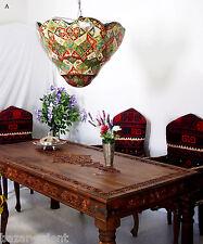 riesig Orient handbemalte Lampe Kamelleder Decken Hängelampe Camel Skin Lamp XL