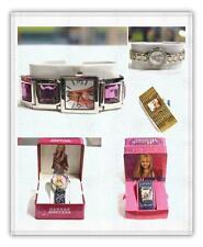 Hannah Montana 5 verschiedene Styles, 1 oder Menge 5 Uhren Metall und Kunstleder