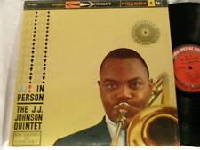 J J JOHNSON In Person Nat Adderley Tommy Flanagan LP
