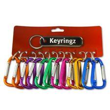 1 x Carabiner Keyring Clip Carabina Karabiner Type 7cm Large Dog Leads Id Badges
