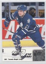 1999-00 Pacific Omega #223 Tie Domi Toronto Maple Leafs Hockey Card