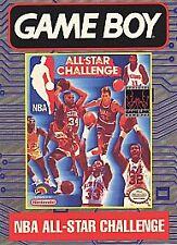 NBA All-Star Challenge (Nintendo Game Boy, 1991) CART ONLY