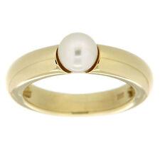 Orolino Ring 585/- Gold Akoya Zuchtperle Damen Glänzend NEU