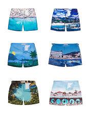 Orlebar Brown Bulldog Photographic Print Swim Shorts, sizes 28/30/31/32/34/36