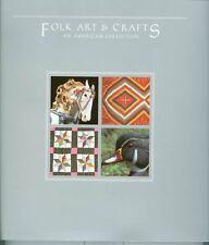 Folk Art&Crafts American Collec w/MNH 8 blocks soft bk