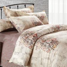 Comfort Essentials Rose Floral 100% Cotton Quilt/Duvet/Doona Cover Set