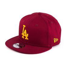 New Era Los Angeles Dodgers Casquette Snapback Bordeaux Jaune 94034
