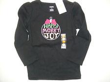 Gymboree NWT CHEERY ALL THE WAY Tee Top Shirt Happy Merry Joy 3 3T 4 4T 5 5T 6