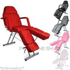 Poltrona lettino per massaggio tattoo estetica pedicure manicure estetista x da