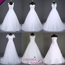 ♥Brautkleid Hochzeitskleid Weiß Größe 34 bis 54 viele Modelle zur Auswahl+NEU♥
