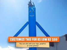 Air Inflatable Sky Puppet Great Dancer- 20 FT Plain Blue