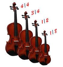 Violino-Violino-natura-selezione dimensione nel set con valigetta, archi, mento pilastro