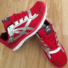NUOVO Uomini Donne Rosso ORTOPEDICO uno shock Diabetico LUCE Cross Trainer Run numero di scarpe