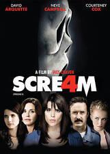 Scream 4 (DVD, 2011, Canadian) David Arquette Neve Campbell Courtney Cox