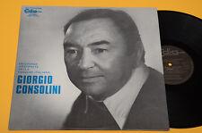GIORGIO CONSOLINI LP ORIG 1976 NM ! MAI SUONATO !