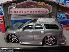 2003 Gift Pack ∞CADILLAC ESCALADE ∞Gray SUV ∞ALPINE∞New LOOSE Hot Wheels