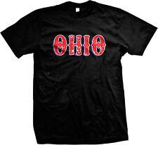 Ohio Distressed Buckeye State Ohioan Pride Mens T-shirt