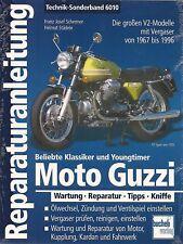 Reparaturanleitung 6010 Moto Guzzi V2 ab Bj. 1967 incl. California Le Mans neu