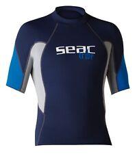 Seac Sub Lycra Shirt, Rash Guard Short Raa Evo, v. Größen