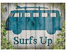 88697 Camper Surf's Up Impresión De Pared Decoración De Pared Arte Cartel Poster Reino Unido