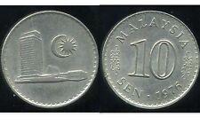 MALAISIE 10 sen 1976  ( bis )