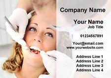 Orthodontist DENTISTA CHIRURGIA pratica odontoiatrica personalizzata business cards