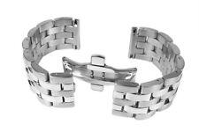 Minott Ersatzband Uhrarmband Edelstahl Band  - Massiv passend zu Breitling Uhren