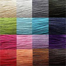 10 Mètres de fil cordon coton ciré pour creation bracelet shamballa,tibétain...