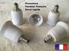 Adaptateur douille E12 mâle - E27 femelle pour ampoule culot neuf 8-29