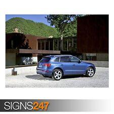 AUDI Q5 3.0 TDI QUATTRO CAR 17 (AD007) CAR POSTER - Poster Print Art A0 A1 A2 A3