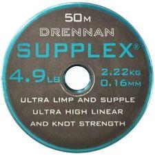 Drennan Supplex Extra Supple 50m Hook Length Line