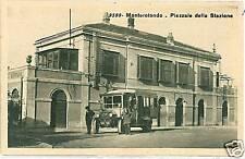 CARTOLINA d'Epoca: MONTEROTONDO - ROMA - STAZIONE TRENI
