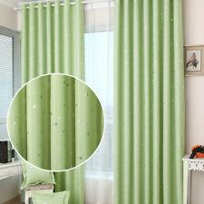 Shiny Stars Children Cloth Curtains For Kids Boy Girl Bedroom Living Room
