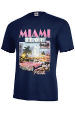 MIAMI BEACH T-SHIRT SOUVENIR,VACATION,PARADISE,SIZES S-5XL AND KIDS S6-8-XL18-20