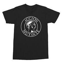 ACCION MUTANTE- Gasmask T-shirt- Crust,Punk,Thrash,Yacopse,Tragedy, Anti Sect