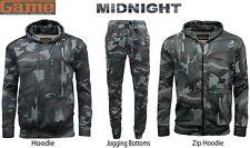 Men's Camouflage Hoodie Tracksuit Hoodie  Zipper Joggers