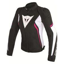 Dainese Avro D2 Womens Textile Jacket Black/White/Fuchsia