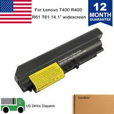 Battery 42T5230 for IBM Lenovo ThinkPad R61 T61 R61i R400 T400 2764 7417 Power